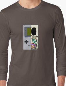 Game Boy Dissected B Long Sleeve T-Shirt