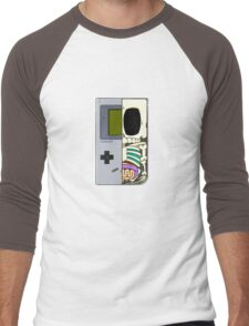 Game Boy Dissected B Men's Baseball ¾ T-Shirt