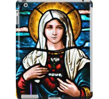 Stain Glass Mary iPad Case/Skin