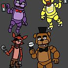 Five Nights at Freddy's by Cloud1UP