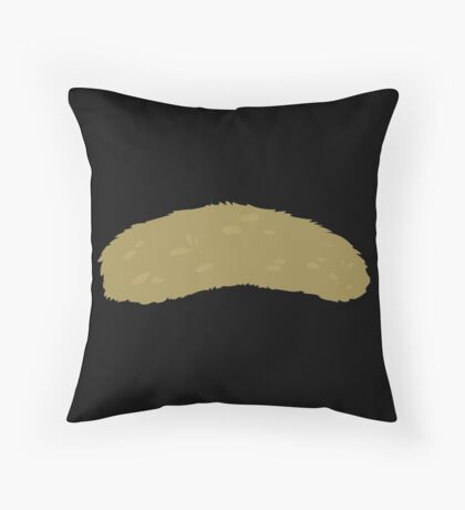 Glitch Groddle Land lens topper 2 Throw Pillow