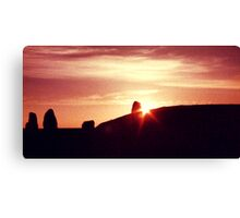 Castlerigg Sunset Canvas Print