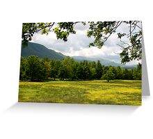 Cades Cove Meadow Greeting Card