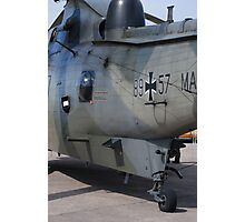German Search & Rescue Sea King Photographic Print
