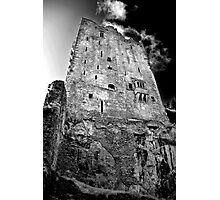 Blarney Castle, Ireland (b/w) Photographic Print