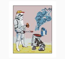 Star Wars BBQ- a piece of street art in Bristol by Dan T-Shirt