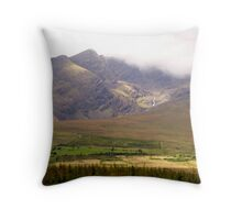 Connor Pass, Dingle Peninsula, Ireland Throw Pillow
