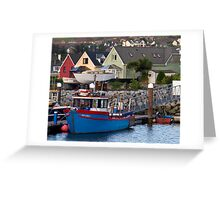 Dingle Harbor, Dingle, Ireland Greeting Card
