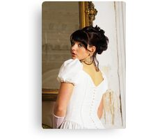 young bride Canvas Print