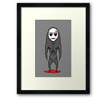 The Mask Framed Print