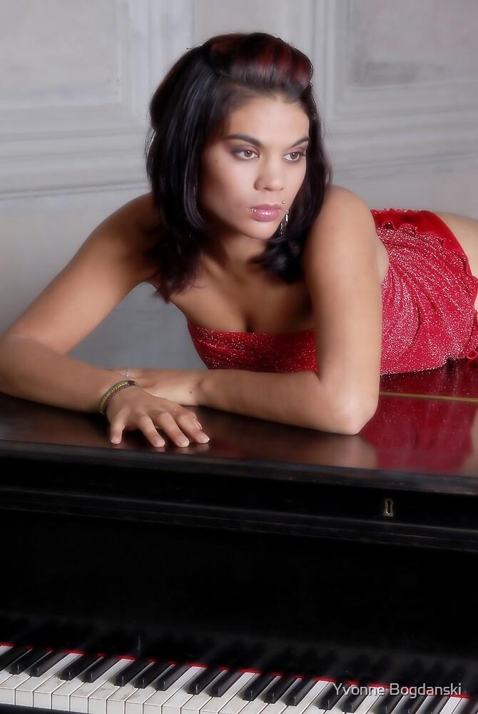On the piano by Yvonne Bogdanski