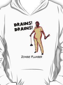 Zombie Plumber - borderless T-Shirt