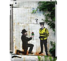 Street Art London Urban Wall Graffiti Artist Prolifik Gangster Proposal iPad Case/Skin