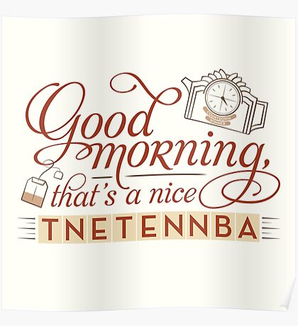 Tnetennba in the Morning Poster