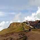 West Bay Cliff Walk.........Dorset.UK by lynn carter