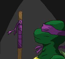 Donatello in the Light by Kiipleny