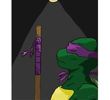Donatello in the Light Photographic Print