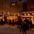 Christmas market in Gamla Stan by kostolany244