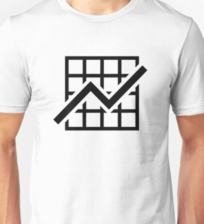 Chart growth profit Unisex T-Shirt