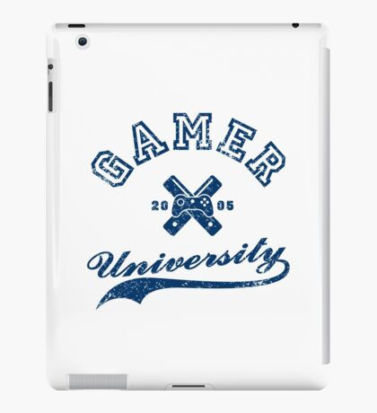 Gamer University iPad Case/Skin