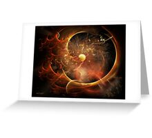 Born in the Vortex - The New Machine Greeting Card