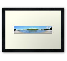 Silver Sands of Morar Panorama Framed Print