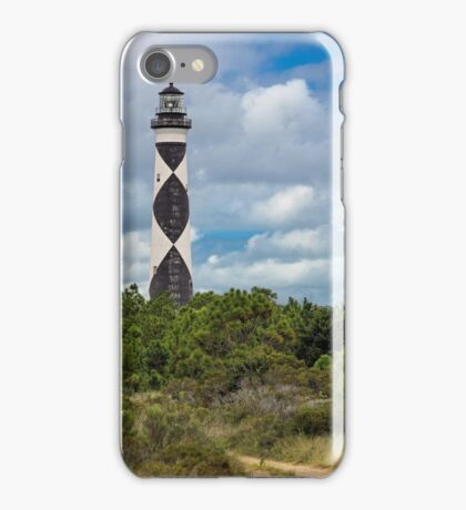 Cape Lookout Lighthouse iPhone Case/Skin