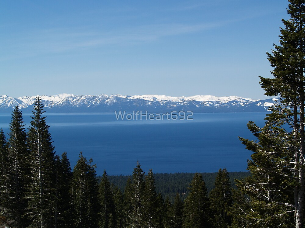 Lake Tahoe by WolfHeart692
