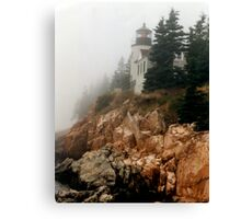 Bass Harbor Lighthouse Canvas Print