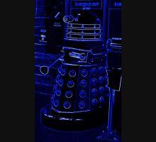 Neon Blue Dalek Unisex T-Shirt