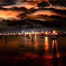 Storm Warning in Melbourne by Steven  Sandner