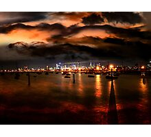 Storm Warning in Melbourne Photographic Print
