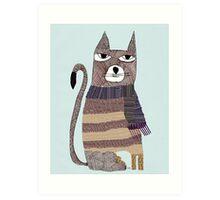 Thomson the cat Art Print