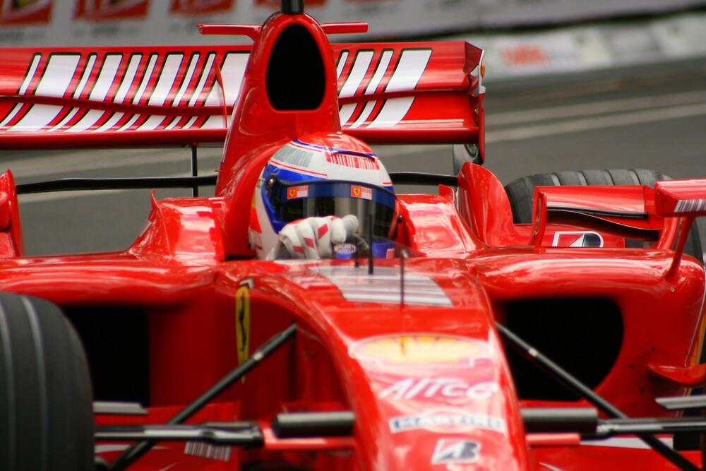 F1 Ferrari 2 by Chris Putnam