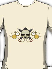 Gentleman Skull (with clocks) T-Shirt
