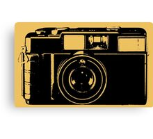 CLASSIC CAMERA-SAY CHEESE Canvas Print
