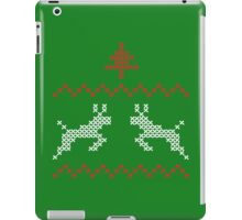 Knit design Christmas iPad Case/Skin