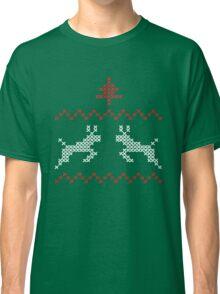 Knit design Christmas Classic T-Shirt