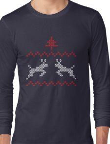 Knit design Christmas Long Sleeve T-Shirt