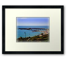 View from Langmore Gardens Framed Print