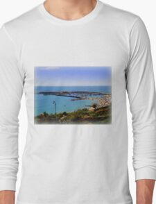 View from Langmore Gardens Long Sleeve T-Shirt