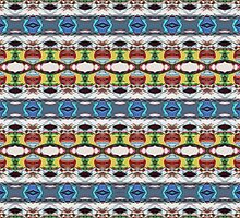 Abstract Colorful Pattern by Phil Perkins