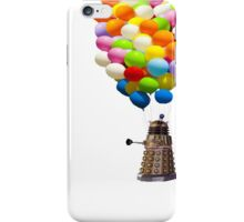 dalek with balloons  iPhone Case/Skin