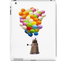 dalek with balloons  iPad Case/Skin