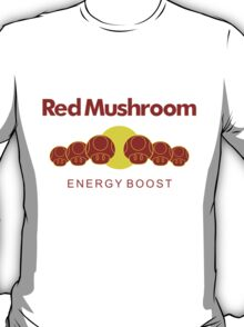Red Mushroom Energy Boost T-Shirt