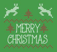Merry Christmas knit design by Richard Eijkenbroek