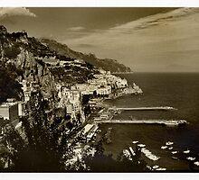 Amalfi Coast, Italy, 1999. by Melinda Kerr