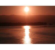 SUNSET LAKE ILLAWARRA Photographic Print