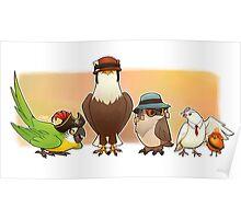 Bird Fortress Poster