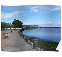 Lake Rotorua, New Zealand Poster